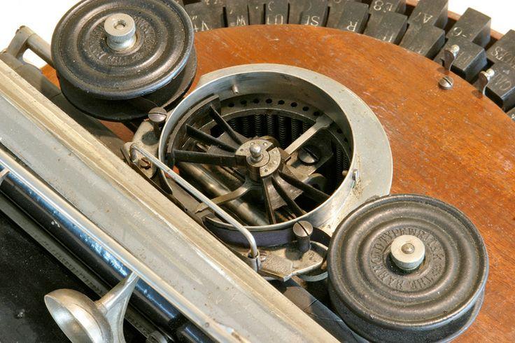 Hammond Typewriter detail. Museo Nicolis collection.