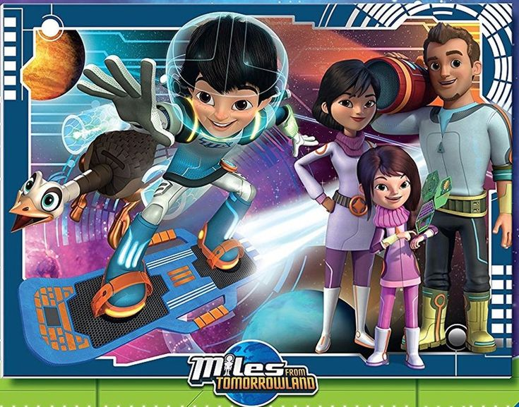 Ravensburger Disney Jr Miles from Tomorrowland 100 XXL Piece Jigsaw Puzzle #Ravensburger