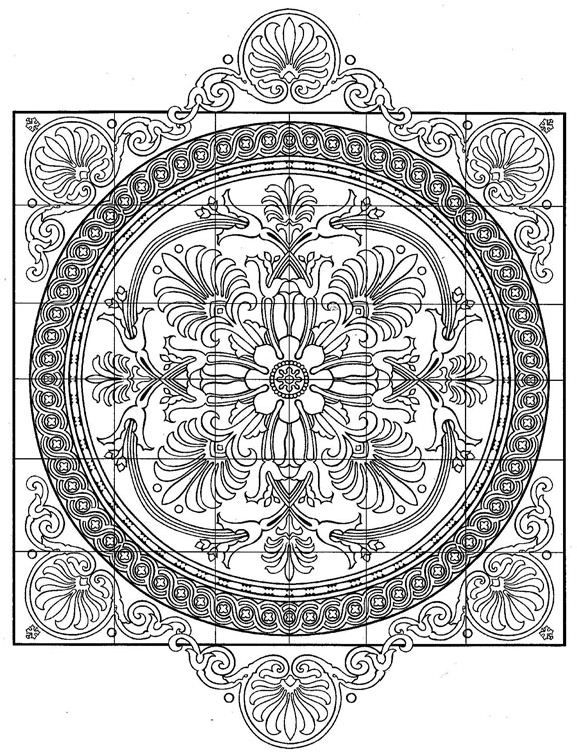 """kleurplaat Tegels - Tegels 
