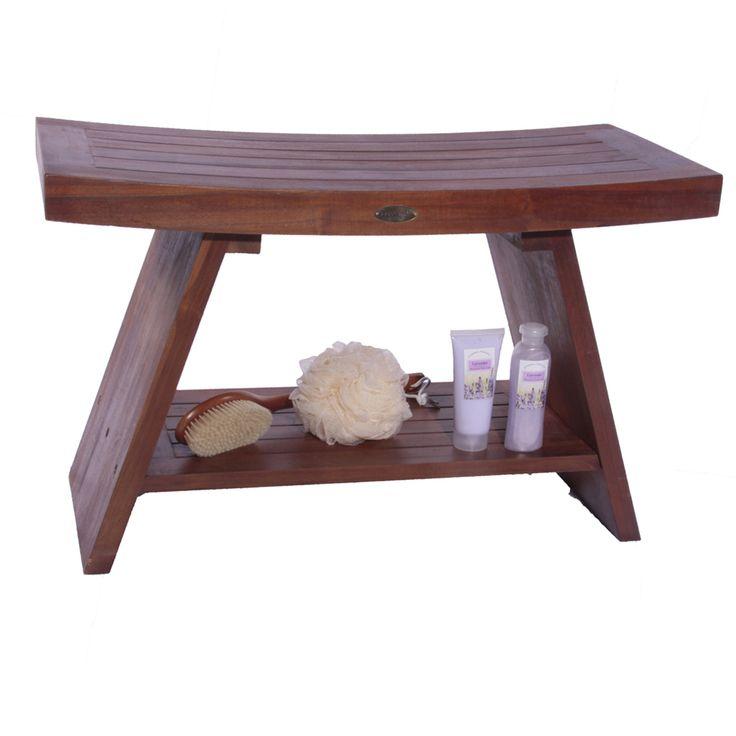Classic Teak Asia shower stool shower bench shower chair bath bathroom