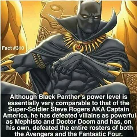 Black Panther fact#310