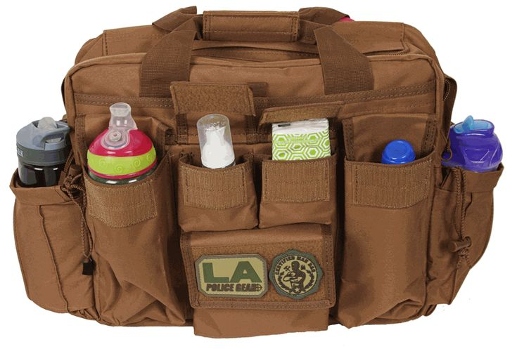 LA Police Gear Jumbo Tactical Diaper Bag. #needit