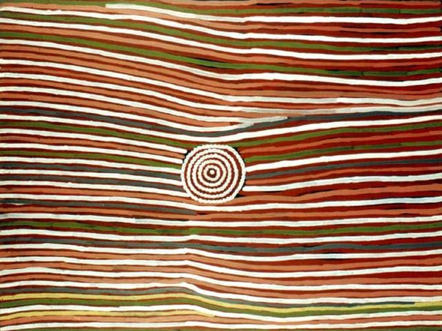 Billy Stockman Tjapaltjarri, Mens Business Body Paint  http://gallery.aboriginalartdirectory.com/aboriginal-art/billy-stockman-tjapaltjarri/mens-business-body-paint.php