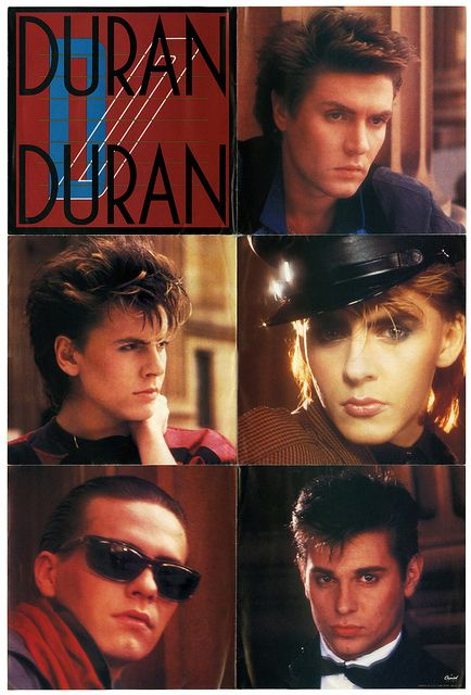 This is a poster sleeve from one of the singles...which one I forget!!!