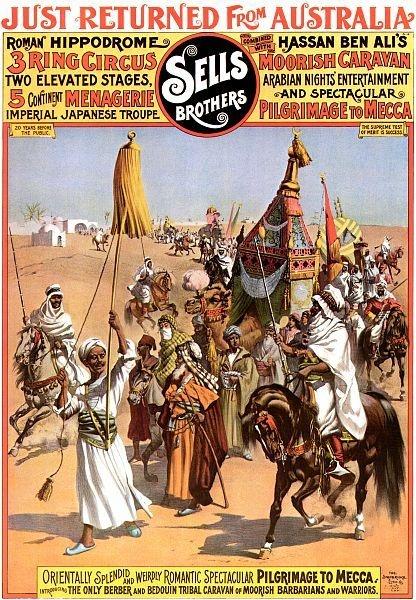 Roman Hippodrome 3 Ring Circus Poster | eBay