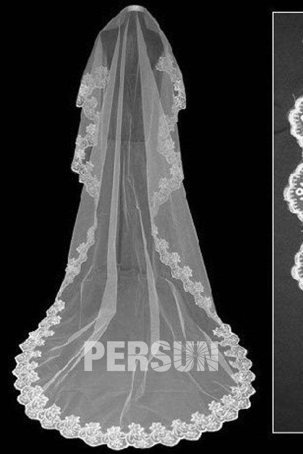 #Monostrato #Veli Da #Sposa a Scialle #Lunghi a Terra - Persunit.com