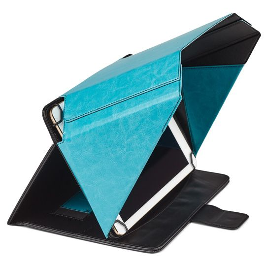 """This is a unique cover with built-in flaps. Screen Shade Cover allows you to work outside in the sun, or to have privacy in public places like trains or planes. The cover fits: iPad Air 1 iPad Air 2 9.7 """"iPad Pro Samsung galaxy loss S2, but the Samsung tablet can not use the camera as it is in the middle."""