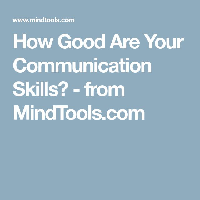 how to develop our communication skills