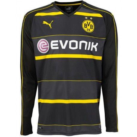 Maillot Borussia Dortmund 2016-2017 Extérieur Manches Longues