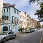 My home away from home Charleston, SC... Absolutely dreamy on Rainbow Row <3