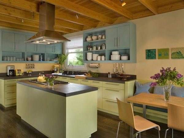 157 best cocinas amarillas images on pinterest yellow - Cocinas amarillas ...