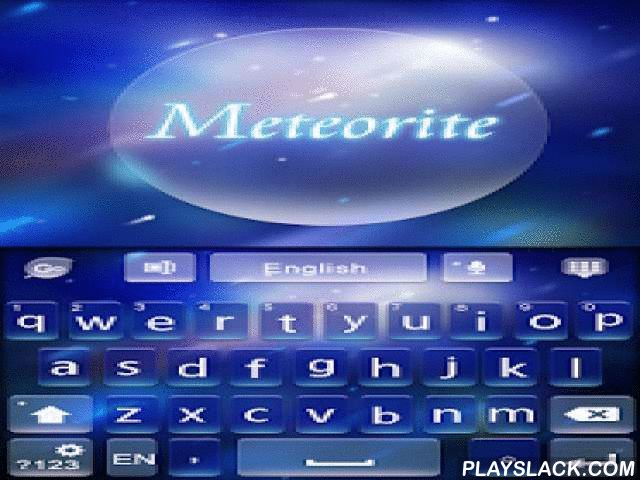 Meteorite GO Keyboard Theme  Android App - playslack.com ,  Beautiful METEORITE Theme! It is the beauty of the universe.It is free! Download it and try it now!★Notice:- GO Keyboard theme is only available for phones with GO KEYBOARD - EMOJI, EMOTICONS installed. Click here to install GO KEYBOARD - EMOJI, EMOTICONS!★How to Apply the Theme:Step 1. Download this theme.Step 2. Click into GO Keyboard -> Theme Settings -> Local -> ApplyFOLLOW US ON…