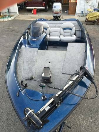 98 Nitro Bass Boat , trailer and Mercury controls