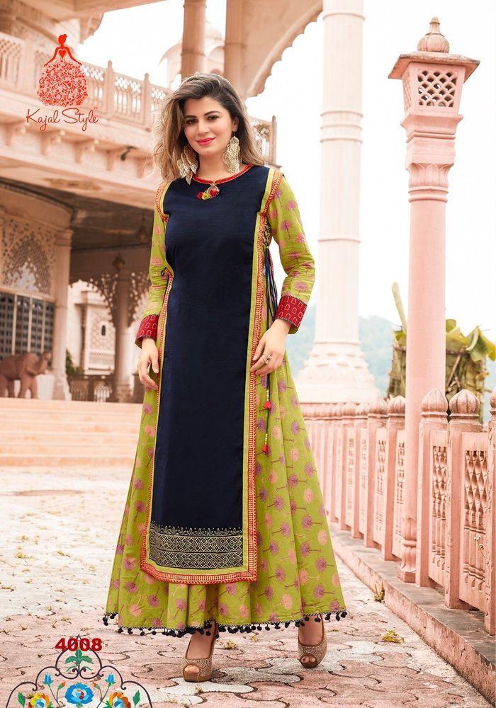 0ca1d960d Indian Bollywood Designer indo western gown Kurta Kurti women ethnic ...