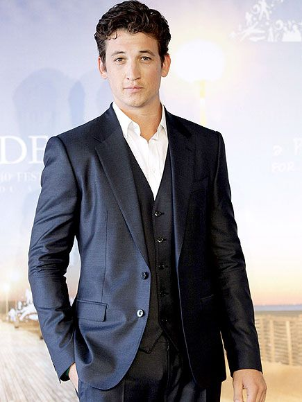 Star Tracks: Friday, September 12, 2014 | HE CLEANS UP WELL | Also in Deauville: Divergent's Miles Teller, who looks dashing in his formalwear at the premiere of his latest, Whiplash, on Thursday.