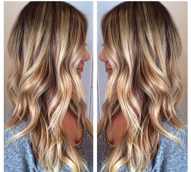 I need to figure out how to get these wavy soft shiny curls!!! Love the color too