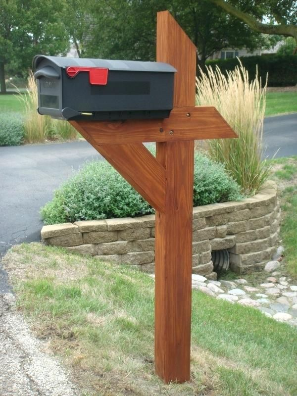 Mailbox Wood Posts Picture Natural Wood Mailbox Posts Wood Post