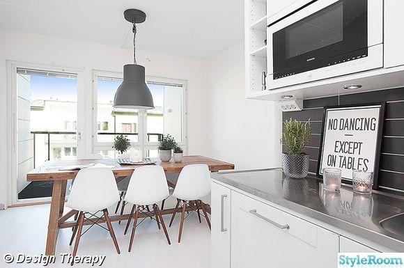 aspen,matbord,rustikt,eames chair,hektar,taklampa,matstolar