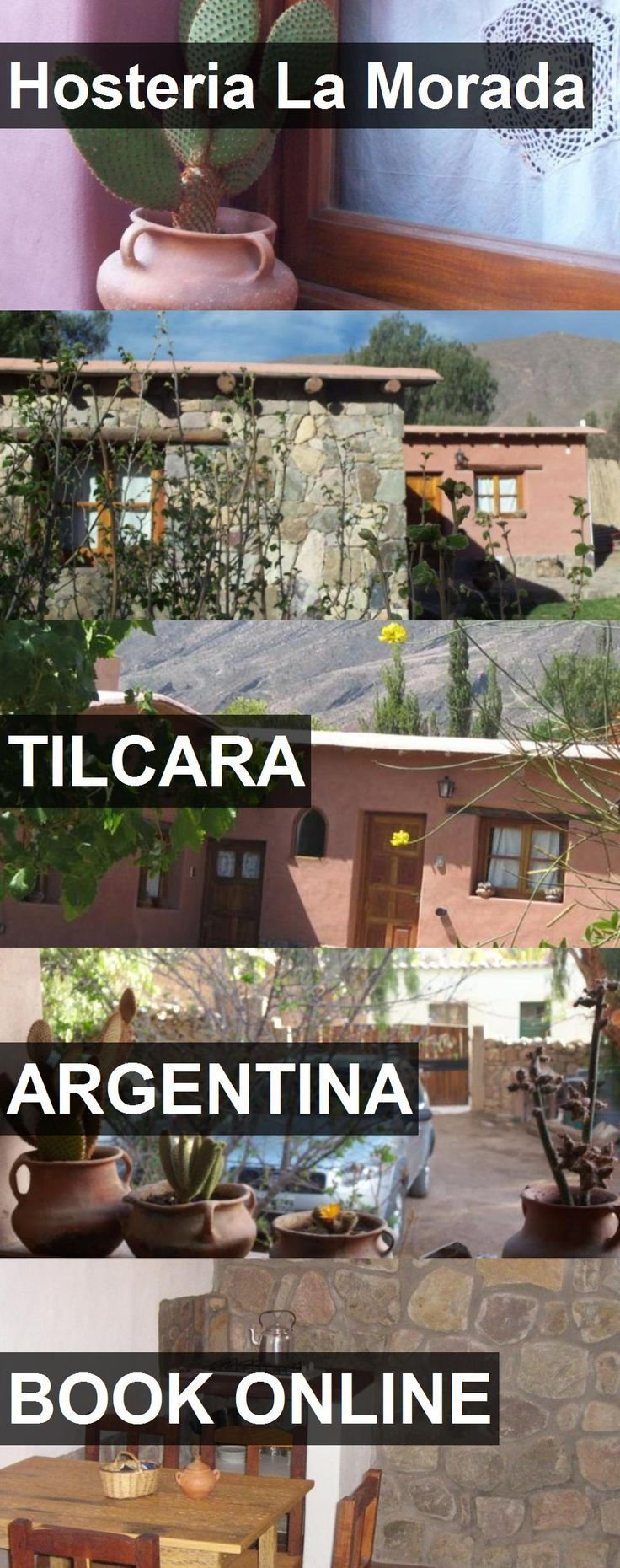 Hotel Hosteria La Morada in Tilcara, Argentina. For more information, photos, reviews and best prices please follow the link. #Argentina #Tilcara #travel #vacation #hotel