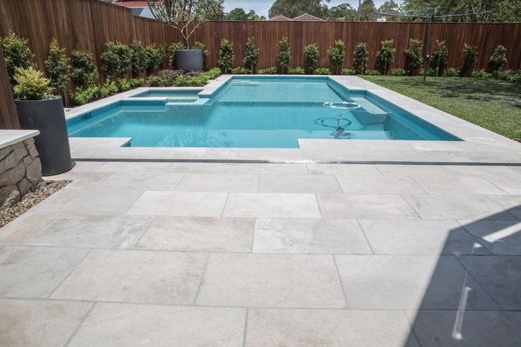 The finish on our Merino Marble Pavers	is sandblasted and smooth to walk on with bare feet, making it an ideal product to use around the pool. Visit our website to learn the various characteristics of each stone and receive individual assistance in choosing just the right product to beautify your home and garden.  #marblepavers #limestonepavers