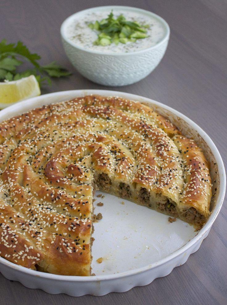 Börek med köttfärs - Zeinas kitchen