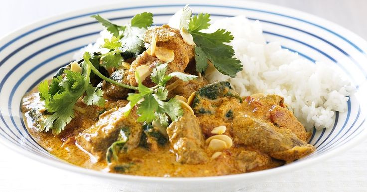 Creamy and rich with yoghurt and tomato, this classic curry can be on the table in just 15 minutes when made ahead.
