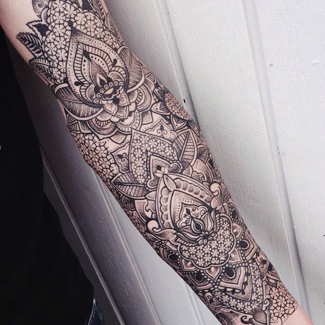 tattoo sleeve pattern - Google Search