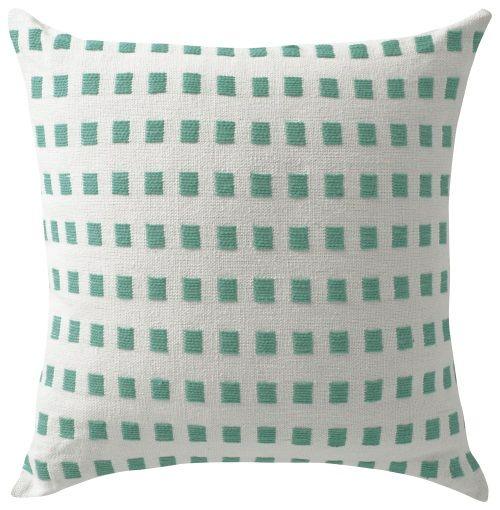 Cushion St Lucia Aqua