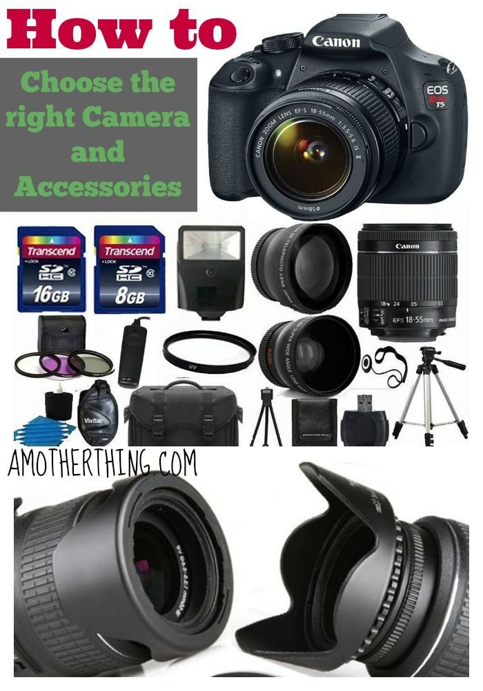 How to choose the right camera and accessories for your budget (beginners guide)