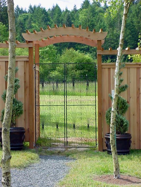 Garden Gate Arbors Designs find this pin and more on outdoors arbors wgates Garden Arbor Gate Arbor Decal Galleries