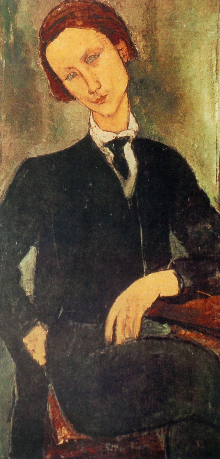 Amadeo Modigliani - Portrait of Monsieur Baranowski