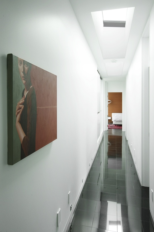 Upper Hallway Of The Hannon Richards Ferrier Webb Residence Located Off Elbow Drive Calgary Architecture Interior DesignSkylightsOff