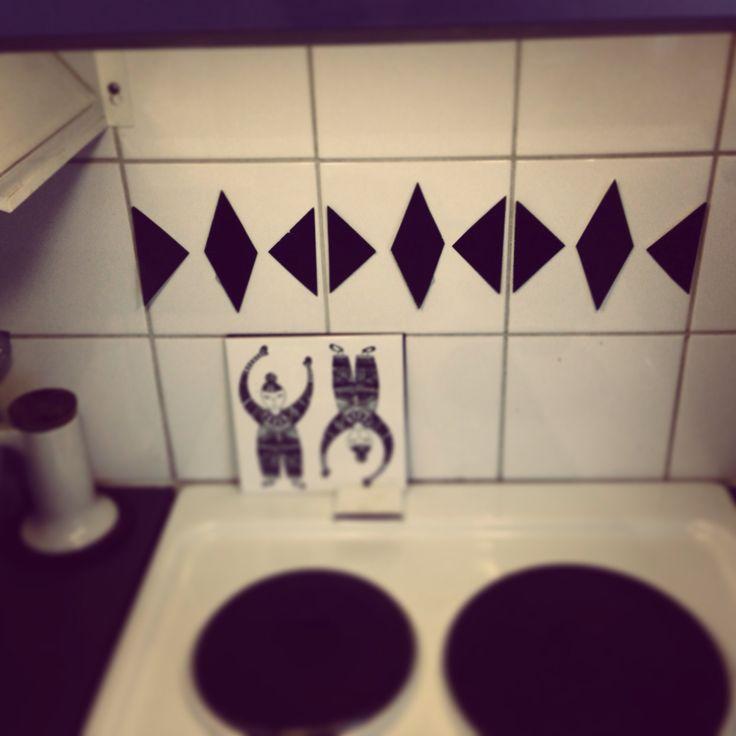 Wallsticker.kitchen. DIY