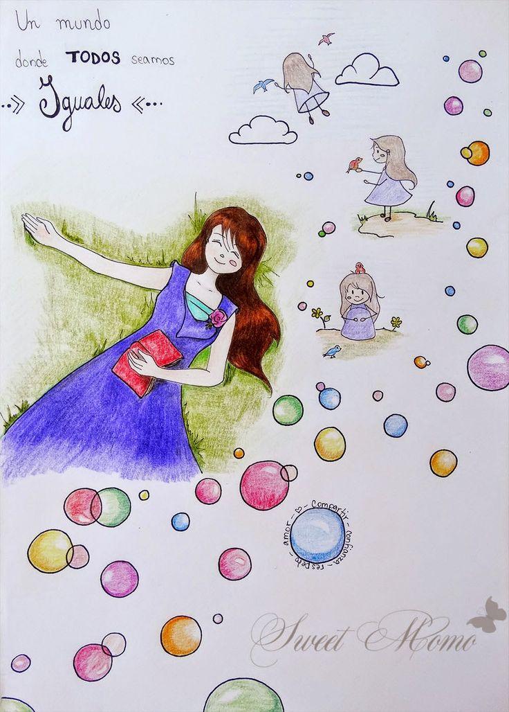 Ilustración, tema sueños para el Desván del arte