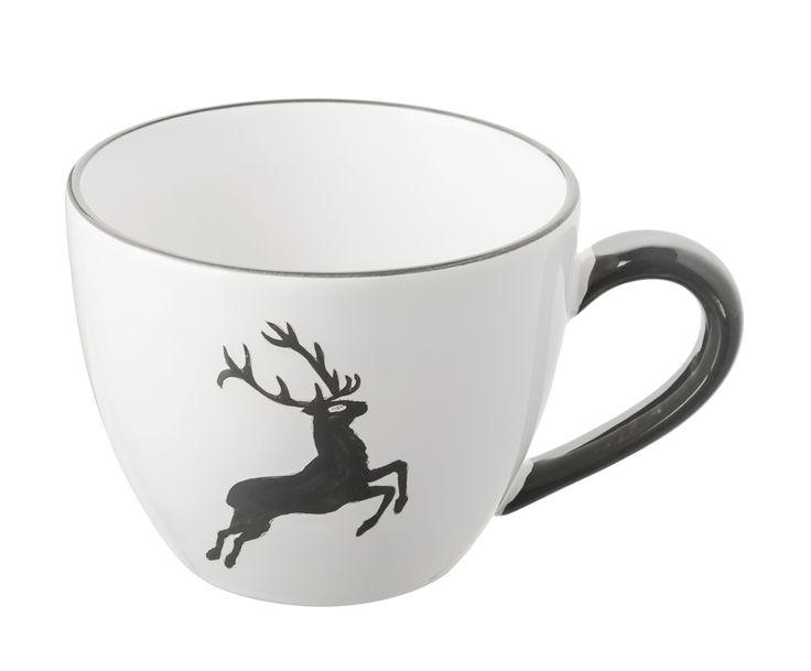Für eine gemütliche Auszeit können Sie sich mit der Teetasse Gourmet GRAUER HIRSCH feinsten Tee gönnen. Gmundner Keramik bei WestwingNow kaufen!