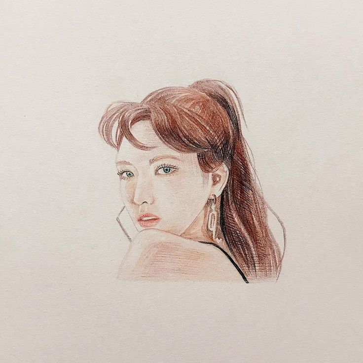 """147 Likes, 3 Comments - @5dock_5dock_ on Instagram: """"#redvelvet #badboy #wendy #drawing #illustration #colorpencil"""""""