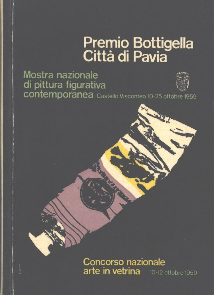 Catalogo Mostra 1959 Premio Botticella, Pavia