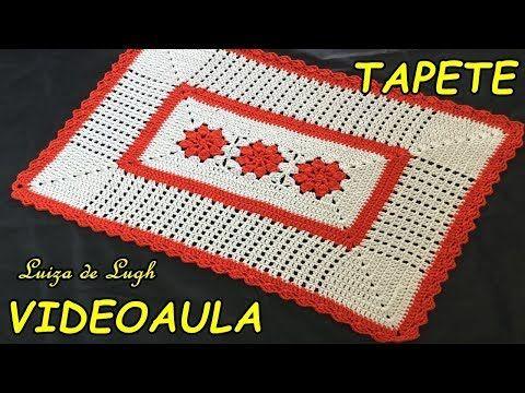 TAPETE COM FLORES SIMPLES E RASTEIRAS #LUIZADELUGH - YouTube