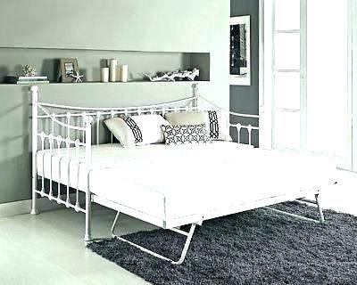 cc2d3370faca Lovely white iron daybed Pictures, fresh white iron daybed or metal daybed  with pop up