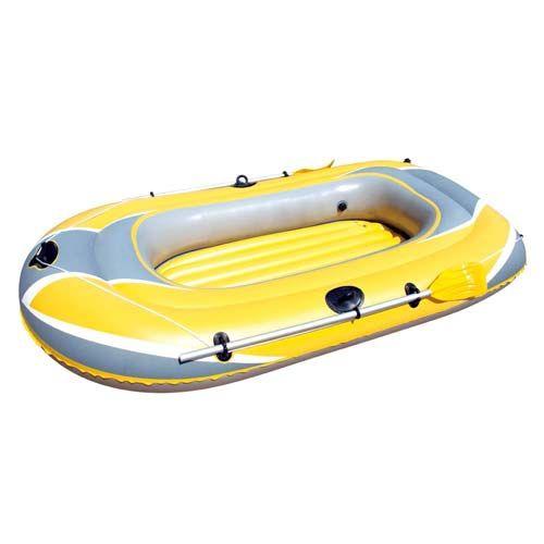 Bote Inflável Hidro Force Raft 3P Amarelo/Cinza 61064 - Bestway