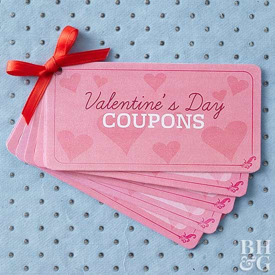 When giving presents to your loved ones this Valentine's Day, turn to our printable coupon booklets for an easy gift idea. We offer coupons for kids, for adults, and even blank ones that you can customize for Valentine's Day on your own. Try our free printable coupons this Valentine's Day!