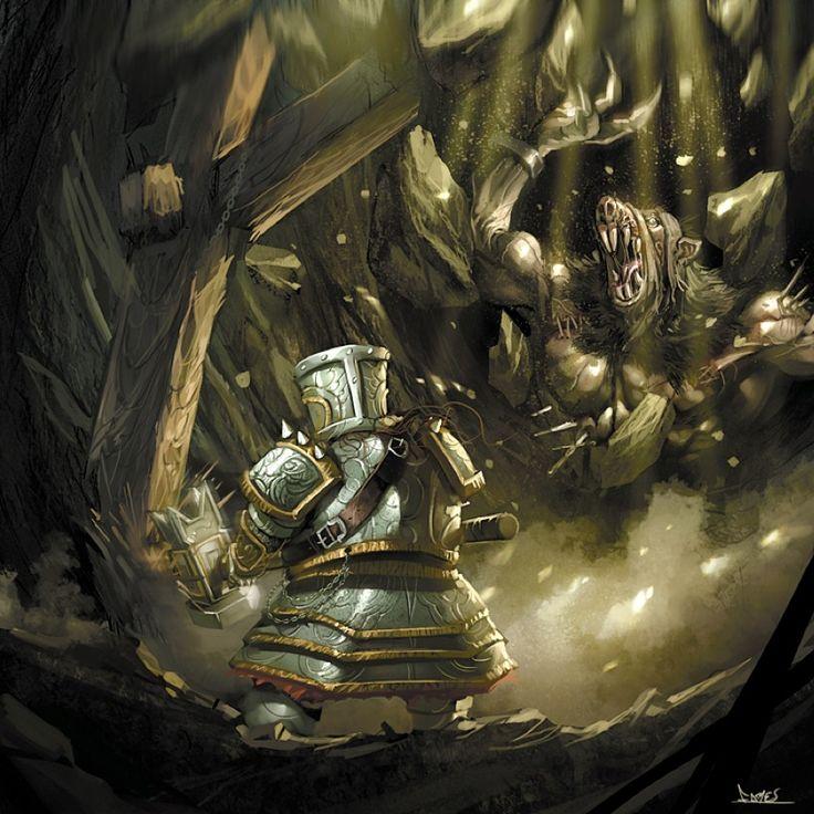 warhammer dwarf vs ogre skaven by faroldjo.deviantart.com on @DeviantArt