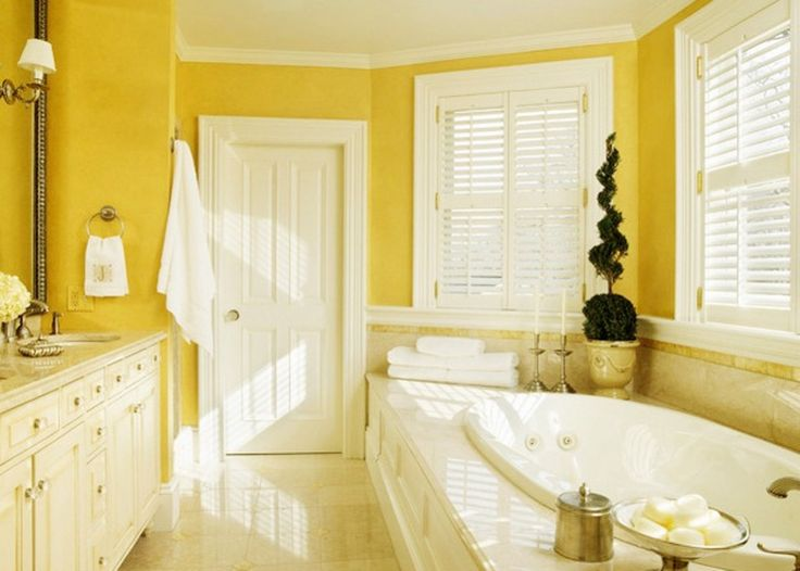 1000 ideas about yellow bathrooms on pinterest bathroom for Yellow bathroom ideas pinterest