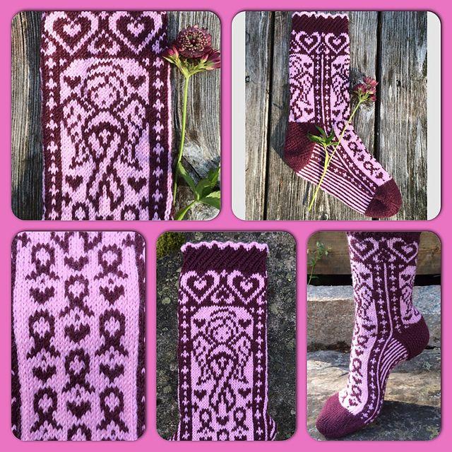 Ravelry: Knits for tits socks pattern by JennyPenny