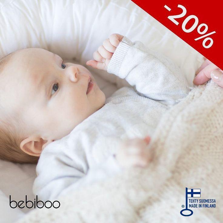 ILOUUTINEN!! Bebiboo unipesälle on myönnetty avainlippumerkki!  Olemme halunneet tehdä oikeasti hyvän ja laadukkaan tuotteen joka auttaa perheitä nukkumaan paremmin niin vanhempia kuin vauvoja. Kaikki Bebiboossa käytetyt materiaalit on ostettu suomalaisilta toimitsijoilta joten voimme helposti sanoa että ostamalla meiltä todellakin tuet pieniä suomalaisia veroa maksavia yrityksiä  Nyt Bebiboo kaikenlisäksi alennettuun hintaan kahden päivän ajan!  #bebiboofinland #unipesä #vauvanpesä…