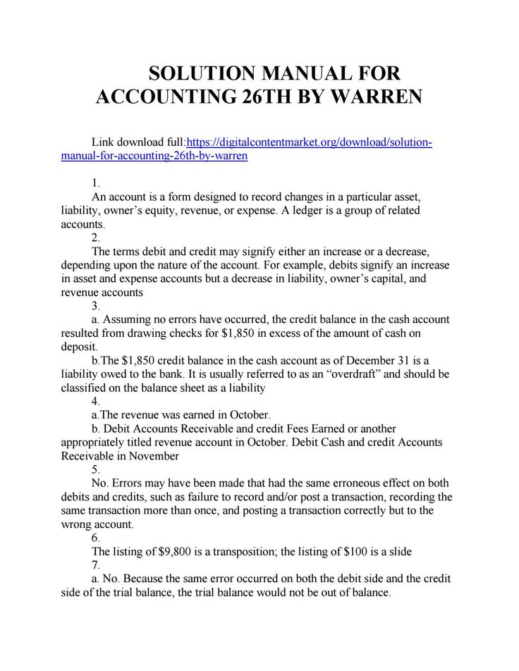 17 best solution manual 3 images on pinterest download solution manual for accounting 26th by warren james jonathan fandeluxe Gallery