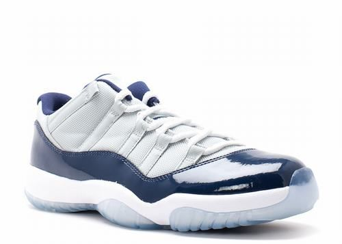Air Jordan 11 Retro Low Georgetown-Cheapjordanshoesfreeshipping.com