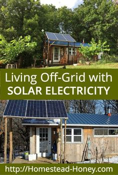 What is it really like to live off-grid with solar electricity? We've been doing it for a year, and in this post I share how solar electricity is working for our family, on our off-grid homestead.   Homestead Honey