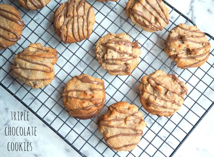 Thermomix Triple Chocolate Cookies