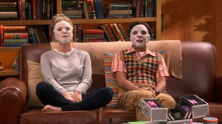Image result for big bang theory episode picture with face mask